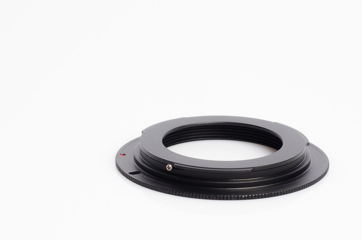 Переходное кольцо М42 - Canon EOS (метал.)