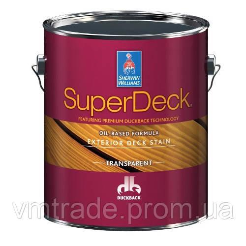 Пропитка для дерева на масляной основе, полупрозрачная, Шервин Вильямс (Super Deck, Oil-Based Base) 3,54 л