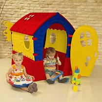 Детский игровой домик Marian Plast 680, размер 95*90*110 см, фото 3