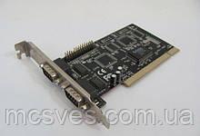 Контроллер PCI to COM + LPT  EIO-2S1P RS232 9 pin  LPT IEE1284 25 pin