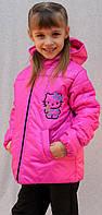 Детская курточка Китти, фото 1