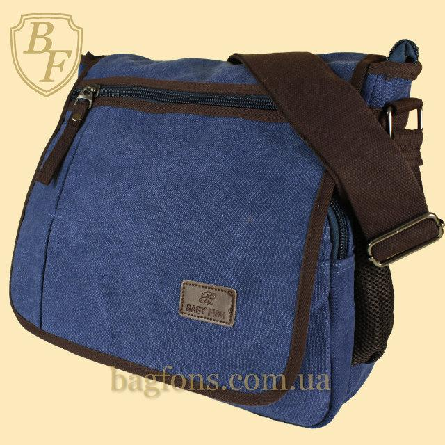 Сумка мессенджер на плечо сумка-планшет брезентовая (котон). В расцветках