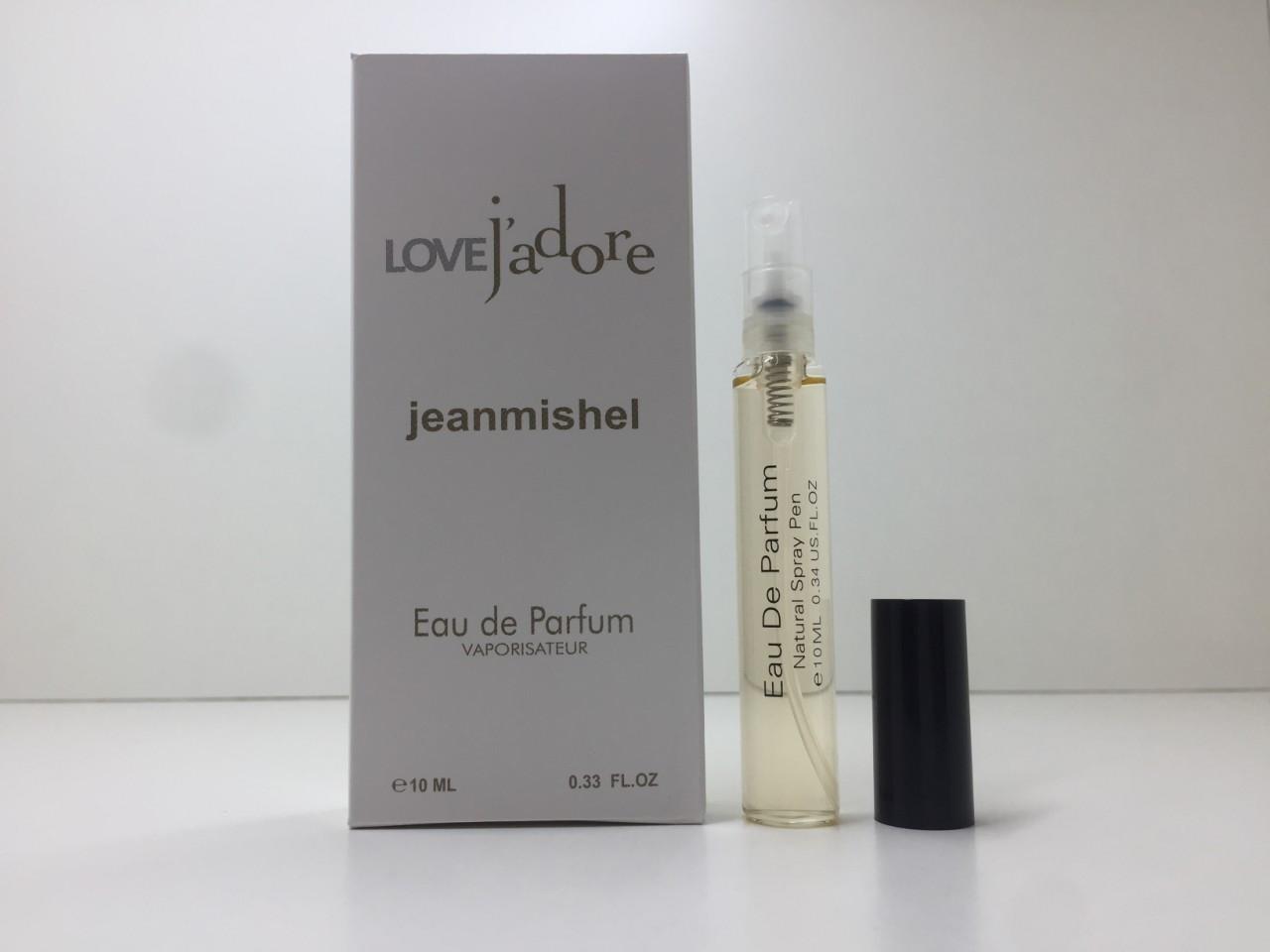 Мини парфюм женский Jeanmishel Jadore (Жанмишель Жадор) 10 мл