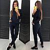 Женский спортивный костюм со шнуровкой в расцветках. ЛД-1-1018, фото 5