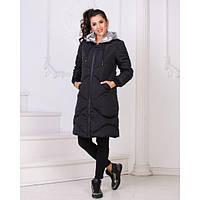 Пальто с карманами G-ат 907 черный