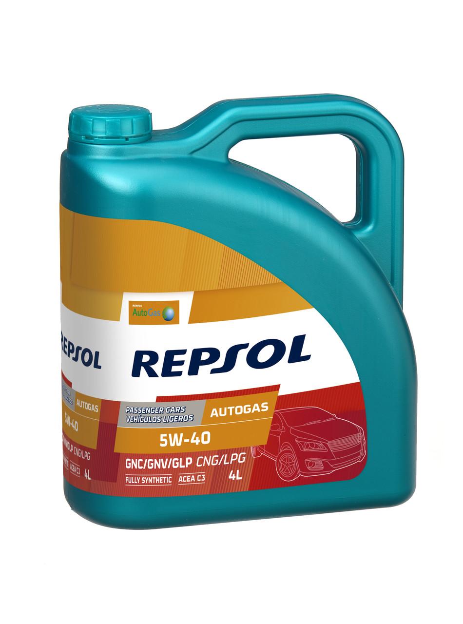 Моторное масло REPSOL AUTO GAS 5W40 (4л)