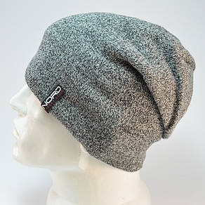 Мужская шапка Nord с кнопкой GR, фото 2
