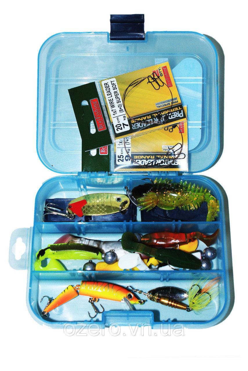 Набор для ловли хищника + коробка, фото 1
