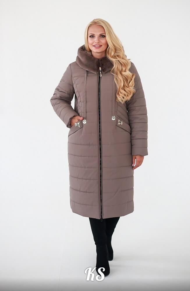 Женское зимнее пальто плащевка силикон 230 раз. 52, 54, 56, 58, 60, 62.