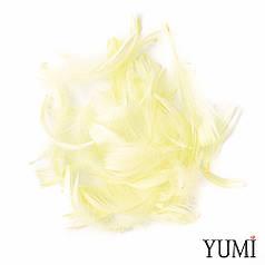 Набор: перья на бабл / Bubble бежевые (айвори), 12г