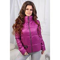 Куртка женская женская АБР-1196.1 фуксия, фото 1