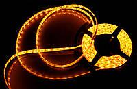 Светодиодная Led лента SMD 3528 24V (влагозащитная) Цвет Оранжевый ( Orange ), фото 1