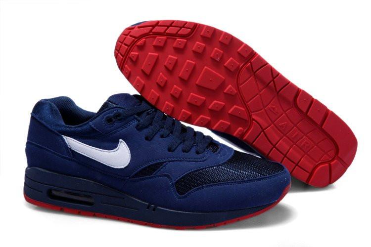 Мужские кроссовки Nike Air Max 87 синие, фото 1