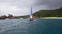 Сейшельские острова. Поход на парусном катамаране