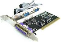 Контроллер EWEL PCI to COM + LPT  EIO-2S1P RS232 9 pin  LPT IEE1284 25 pin