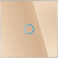 Лицевая панель для выключателя Livolo BB-C7-C1-13 Golden