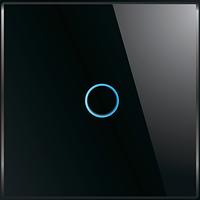 Лицевая панель для выключателя Livolo BB-C7-C1-12 Black