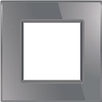 Рамка для розетки Livolo BB-C7-SR-15 Gray