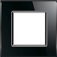 Рамка для розетки Livolo BB-C7-SR-12 Black