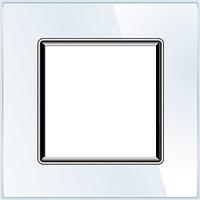 Рамка для розетки Livolo BB-C7-SR-11 White