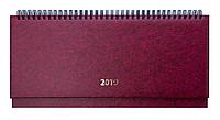 Планинг датированный 2019 BASE, бордовый 2599-13, фото 1