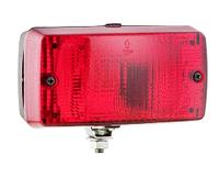 Противотуманный фонарь Wesem LA1.02004 красный 140х75х65