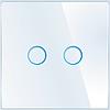 Лицевая панель для выключателя Livolo BB-C7-C2-11 White
