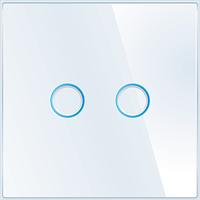Лицьова панель для вимикача Livolo BB-C7-C2-11 White