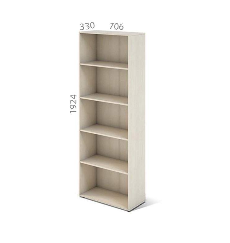 Шкаф открытый серии Сенс модель S4.00.19 ТМ MConcept