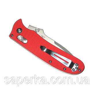 Нож складной Ganzo G704, красный, фото 2