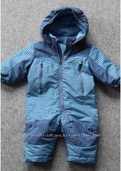 Расподажа. Комбинезон демисезонный LUPILU сине-голубой для мальчиков. Размер 62-68