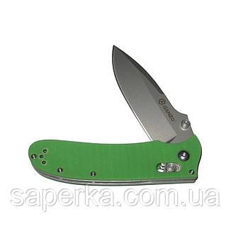 Нож складной Ganzo G704, зеленый, фото 2