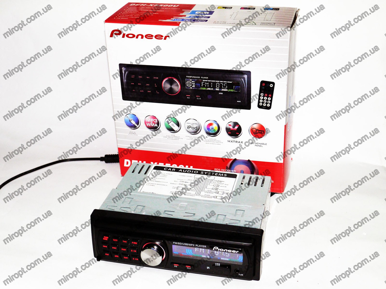 Автомагнітола Pioneer DEH-X5500U - USB+SD+FM+AUX