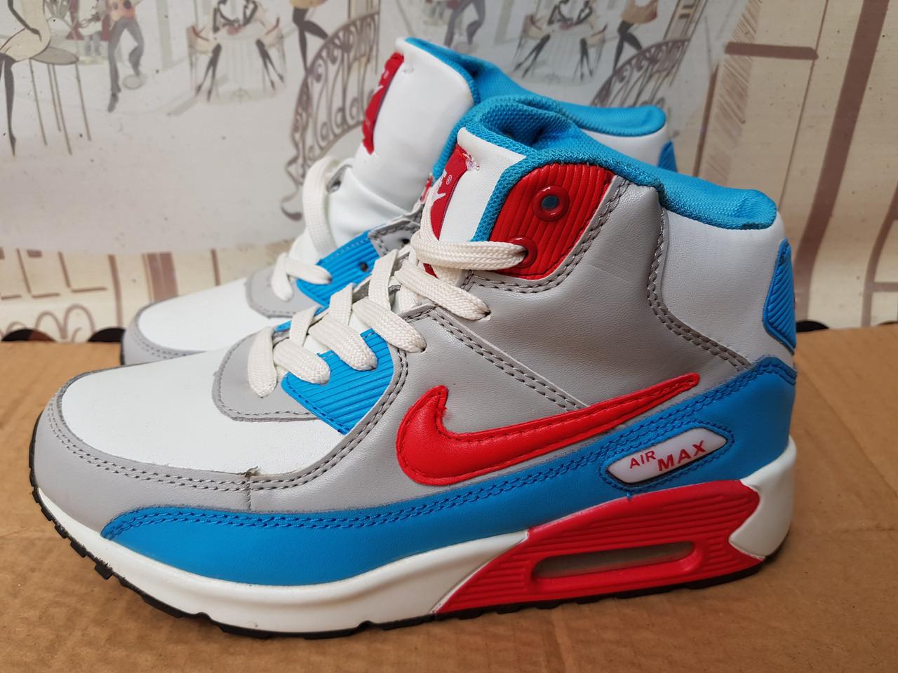 Зимние женские кроссовки Nike Air Max,цвета разные,распродажа