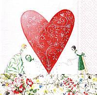 Салфетка декупажная Феи любви 4317