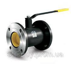 Кран шаровый стальной фланцевый стандартнопроходной LD Ду 15 мм.