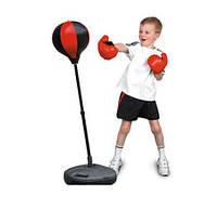 Боксерский набор MS 0332 перчатки и боксерская груша на стойке, фото 3