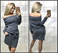 "женское теплое платье с ангоры платье  (жіноче плаття ) ""Жанна"", фото 1"