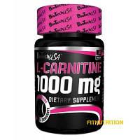 L-carnitine 1000 BioTech USA 30 табл (30 порций)