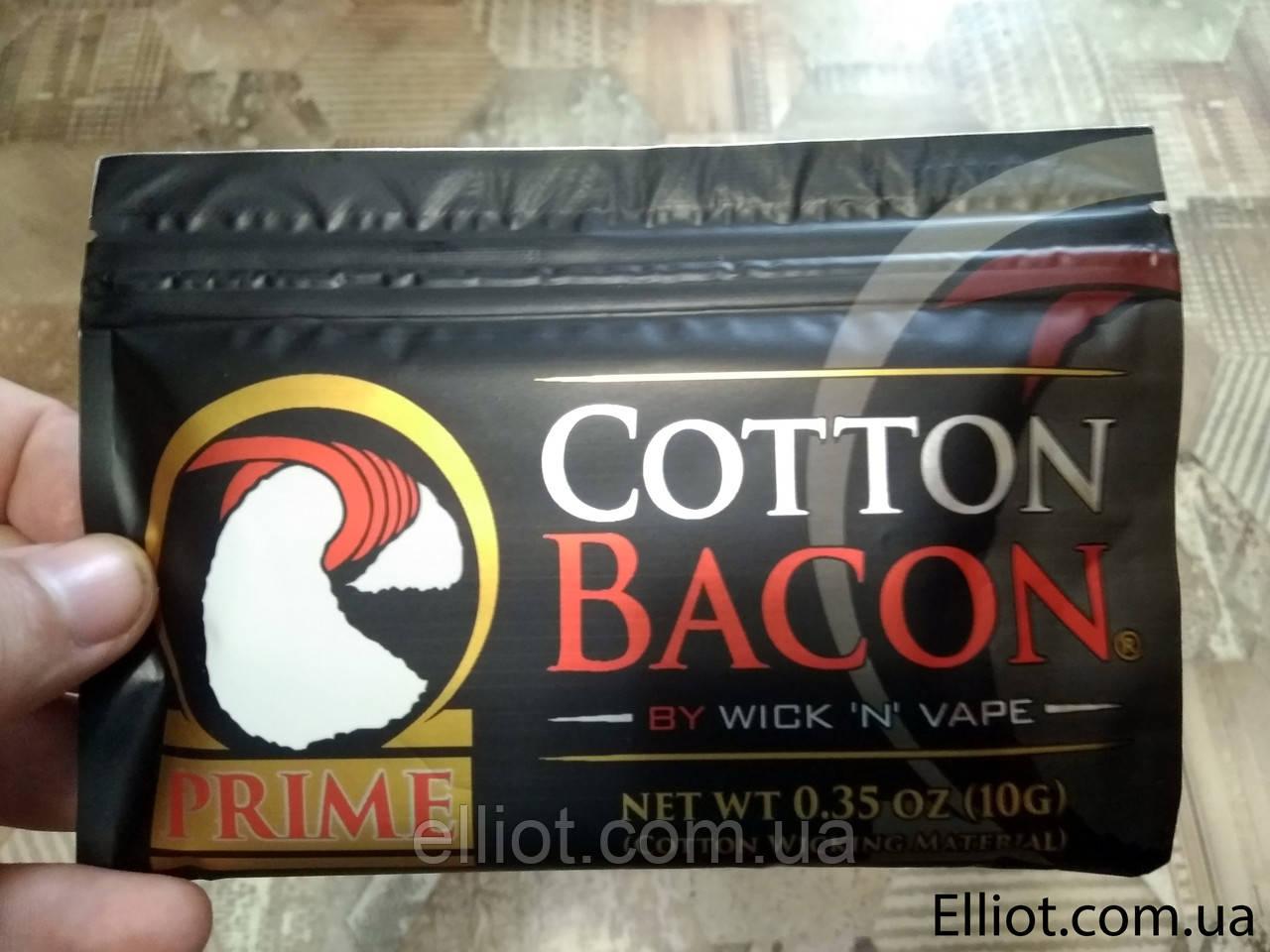 Cotton Bacon Prime Бавовна Вата преміум для вейпа копія