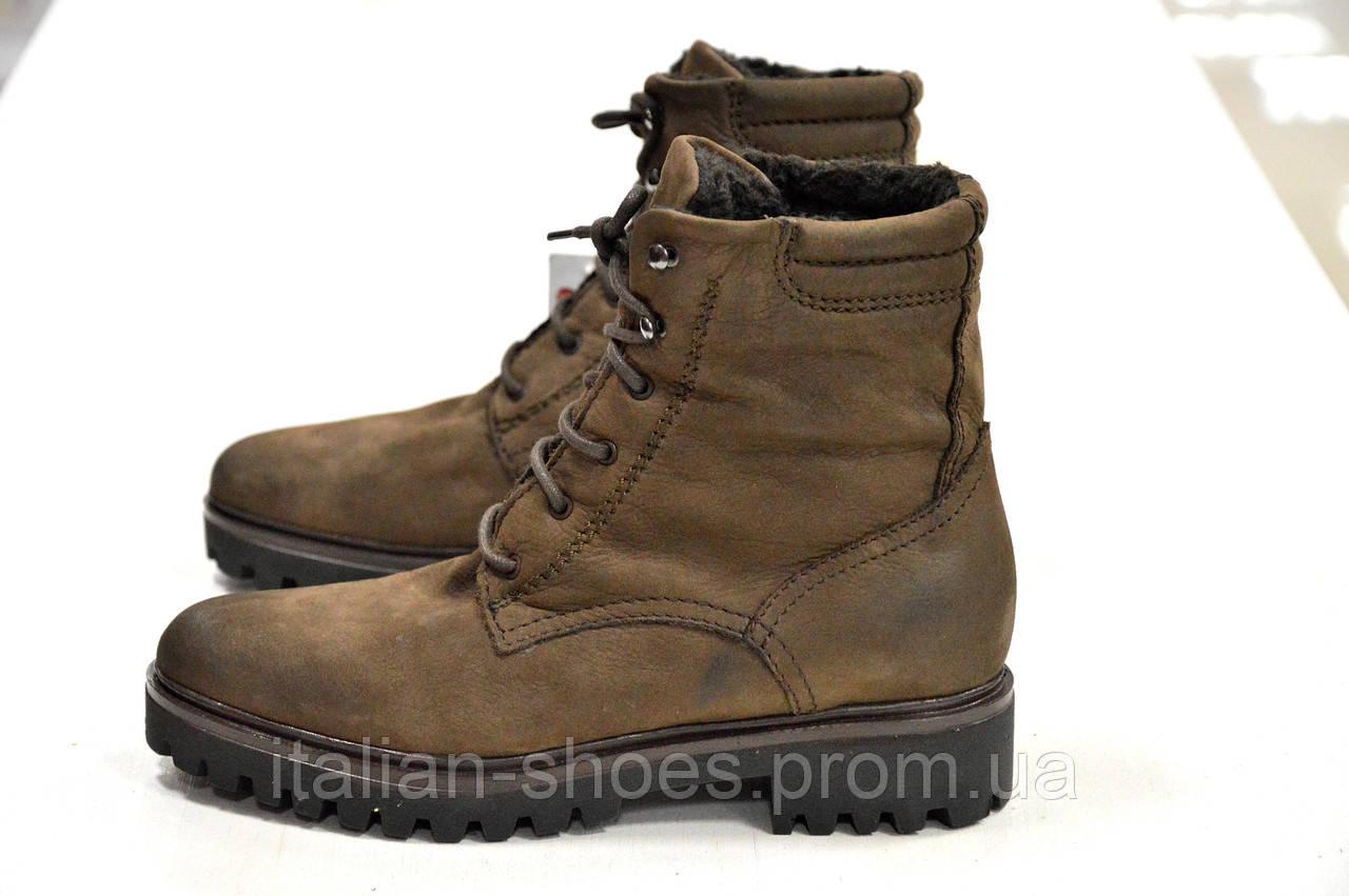 Зимние коричневые ботинки Roberta Lopes -775