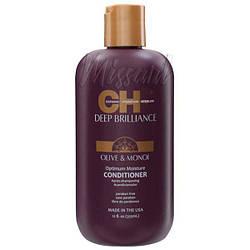 Увлажняющий кондиционер для поврежденных волос CHI Deep Brilliance Optimum Moisture Conditioner 355 мл