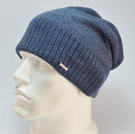 Мужская шапка Nord с кнопкой, фото 2