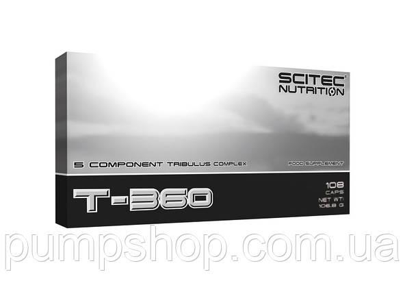 Бустер тестостерона Scitec Nutrition T-360 108 капс., фото 2