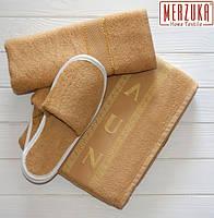 Набор (комплект) для сауны и бани мужской «ТМ Merzuka» (Турция) 3 предмета.