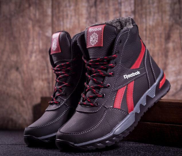 Подростковые зимние кроссовки Reebok - LeatherShoes в Харькове 467ddad931e35