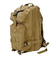 Тактический (городской) рюкзак Oxford 600D с системой M.O.L.L.E на 40 литров Coyote (ta40 песок)