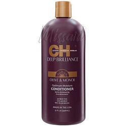 Увлажняющий кондиционер для поврежденных волос CHI Deep Brilliance Optimum Moisture Conditioner 946 мл