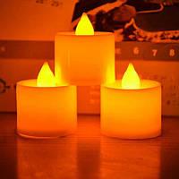 Электронные свечи чайная 24