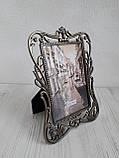 Рамка для фото з металу 10х15 см, фото 2